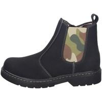 Schuhe Damen Ankle Boots Asso AG-8913 SCHWARZ