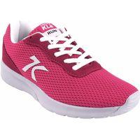 Schuhe Damen Sneaker Low Sweden Kle Damenschuh  882054 fuxia Rose