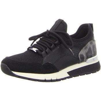 Schuhe Damen Sneaker Low Tom Tailor Schnuerschuhe Slipper Halbschuh 9091104 schwarz