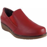 Schuhe Damen Bootsschuhe Bellatrix Damenschuh  7560 rot Rot