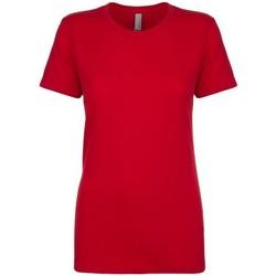 Kleidung Damen T-Shirts Next Level NX3900 Rot