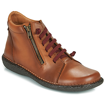 Schuhe Damen Boots Casual Attitude NELIO Camel