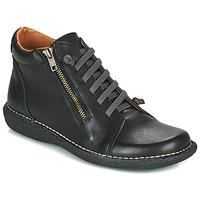 Schuhe Damen Boots Casual Attitude NELIO Schwarz