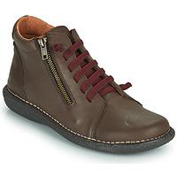 Schuhe Damen Boots Casual Attitude NELIO Braun