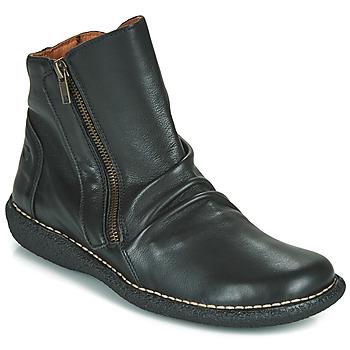 Schuhe Damen Boots Casual Attitude NELIOO Schwarz