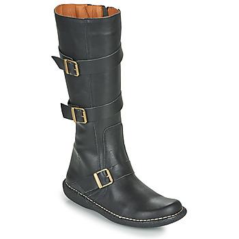 Schuhe Damen Klassische Stiefel Casual Attitude NIBOOT Schwarz