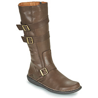 Schuhe Damen Klassische Stiefel Casual Attitude NIBOOT Braun