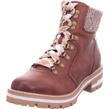 Schuhe Damen Stiefel Jana Damen Stiefelette COGNAC