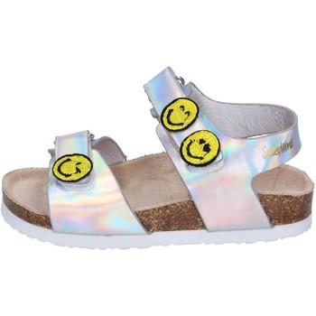 Schuhe Mädchen Sandalen / Sandaletten Smiley BK507 Silber