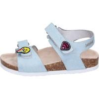 Schuhe Mädchen Sandalen / Sandaletten Smiley BK510 Blau