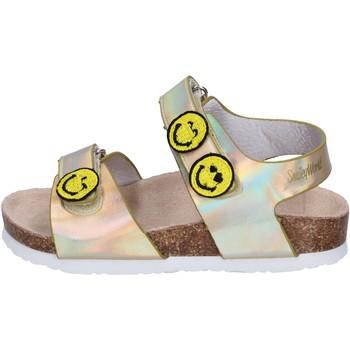 Schuhe Mädchen Sandalen / Sandaletten Smiley BK511 Gold