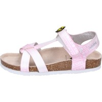 Schuhe Mädchen Sandalen / Sandaletten Smiley BK512 Pink