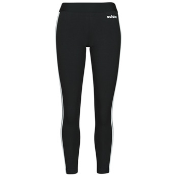 Kleidung Damen Leggings adidas Originals W E 3S TIGHT Schwarz / Weiss