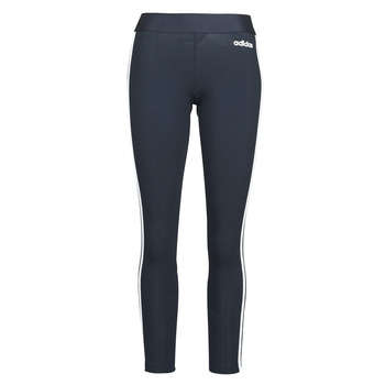 Kleidung Damen Leggings adidas Originals W E 3S TIGHT Encleg / Weiss