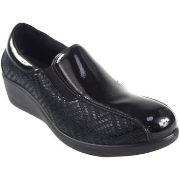 Schuhe Damen Bootsschuhe Amarpies Damenschuh  18800 ajh schwarz Schwarz