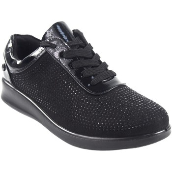 Schuhe Damen Sneaker Low Amarpies Damenschuh  18840 ast schwarz Schwarz