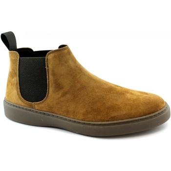 Schuhe Herren Boots Frau FRA-I20-19A6-MA Marrone
