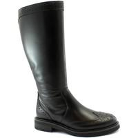 Schuhe Damen Klassische Stiefel Frau FRA-I20-96L9-NE Nero