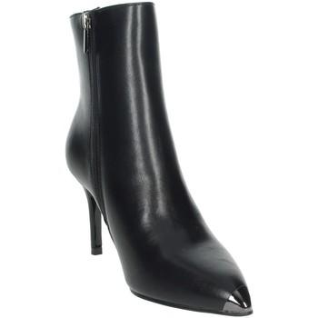 Schuhe Damen Boots Gold & Gold GE84 Schwarz