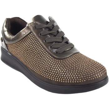 Schuhe Damen Sneaker Low Amarpies Damenschuh  18840 ast taupe Braun