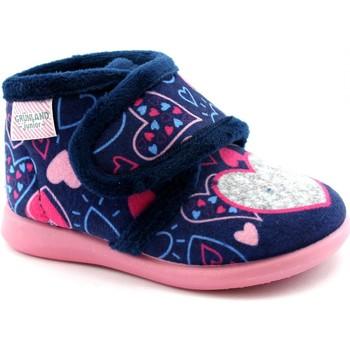 Schuhe Mädchen Babyschuhe Grunland GRU-I20-PA0635-BL Blu