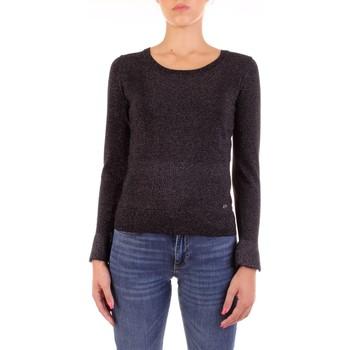 Kleidung Damen Pullover Yes Zee M028-IG00 Schwarz