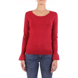 Kleidung Damen Pullover Yes Zee M028-IG00 Rot