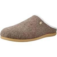 Schuhe Damen Hausschuhe Hot Potatoes 60742G Beige