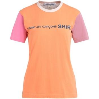 Kleidung Damen T-Shirts Comme Des Garcons T-Shirt Multicolor mit Logo Bunt