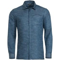 Kleidung Herren Langärmelige Hemden Vaude Sport Me Mineo LS Shirt 41711 335 blau