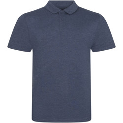 Kleidung Herren Polohemden Awdis JP001 Marineblau meliert
