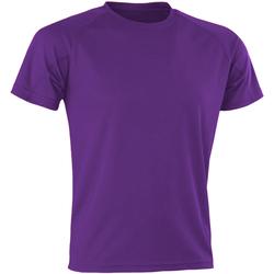 Kleidung Herren T-Shirts Spiro SR287 Violett