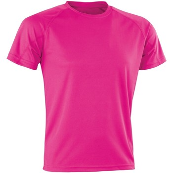 Kleidung Herren T-Shirts Spiro SR287 Neonpink