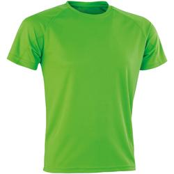 Kleidung Herren T-Shirts Spiro SR287 Limette