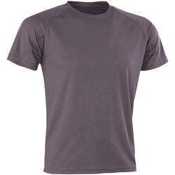 Kleidung Herren T-Shirts Spiro SR287 Grau