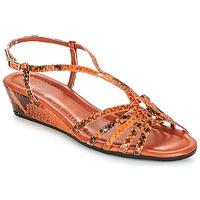 Schuhe Damen Sandalen / Sandaletten Amalfi by Rangoni NAMIBIAPRT Orange