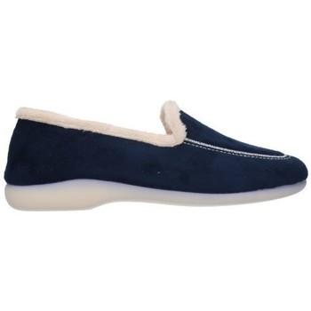 Schuhe Damen Hausschuhe Norteñas 4-320 Mujer Azul marino bleu