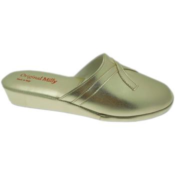 Schuhe Damen Pantoletten / Clogs Milly MILLY2200oro blu