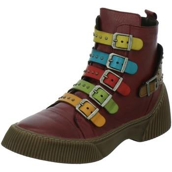 Schuhe Damen Boots Gemini Stiefeletten 033105-02-597 rot
