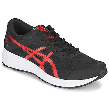 Schuhe Herren Laufschuhe Asics PATRIOT 12 Schwarz / Rot