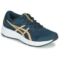 Schuhe Damen Laufschuhe Asics PATRIOT 12 Blau / Orange