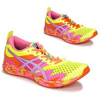 Schuhe Damen Laufschuhe Asics NOOSA TRI 12 Gelb / Multicolor