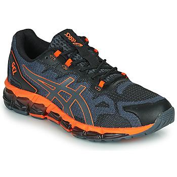 Schuhe Herren Sneaker Low Asics QUANTUM 360 6 Schwarz / Grau / Orange