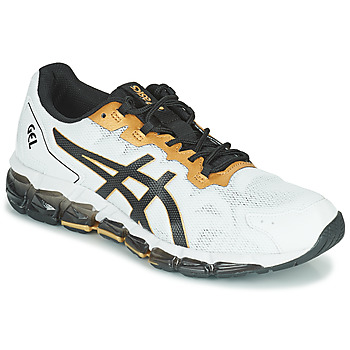 Schuhe Herren Sneaker Low Asics QUANTUM 360 6 Weiss / Schwarz / Gold
