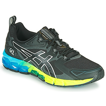 Schuhe Herren Sneaker Low Asics QUANTUM 180 6 Schwarz / Blau / Gelb