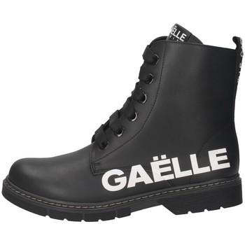 Schuhe Damen Low Boots GaËlle Paris G-452A Stiefel Frau SCHWARZ SCHWARZ