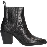 Schuhe Damen Low Boots Steve Madden SMSGENIVA-BLK Texano Frau SCHWARZ SCHWARZ