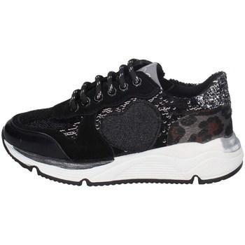 Schuhe Mädchen Sneaker Low Asso AG-8701 SCHWARZ