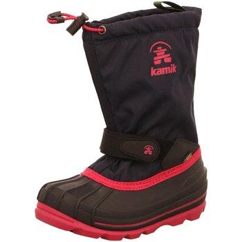 Schuhe Mädchen Schneestiefel KAMIK Winterstiefel Waterbug 8 Gore NK8805/4805 schwarz