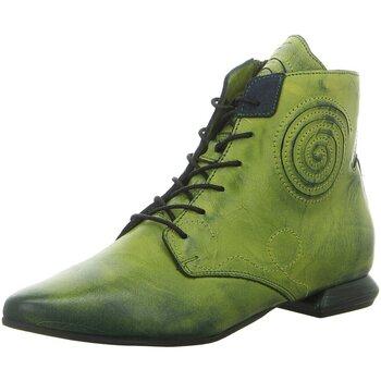 Schuhe Damen Boots Simen Stiefeletten 2852A GRÜN grün